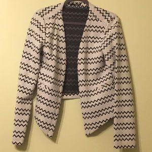 Crop Casual Jacket/Blazer